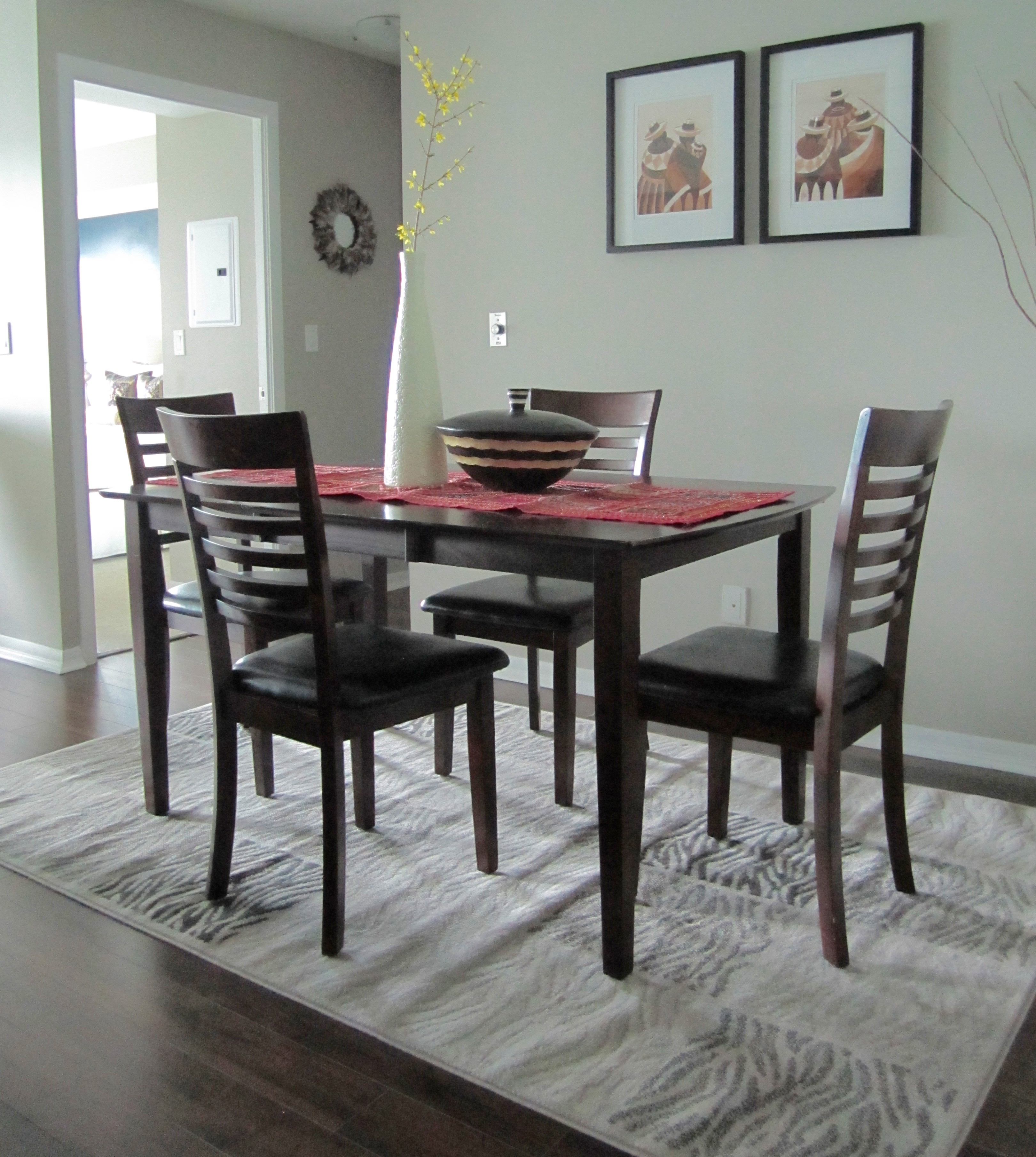 I Bought This Dining Set About 5 Years Ago. The Chairs Had A Vinyl  Upholstery Cover On The Seat Which I Thought Was Most Beneficial For An  Easy Wipe Down ...